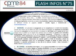 Flash Info CPME