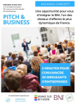 Pitch et Business
