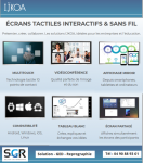 IJKOA Ecran géant tactile et interactif